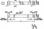 Колонна 1КВ 4.36 (Серия1.020-1)