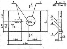 Плита ПТ 75-45-6-9